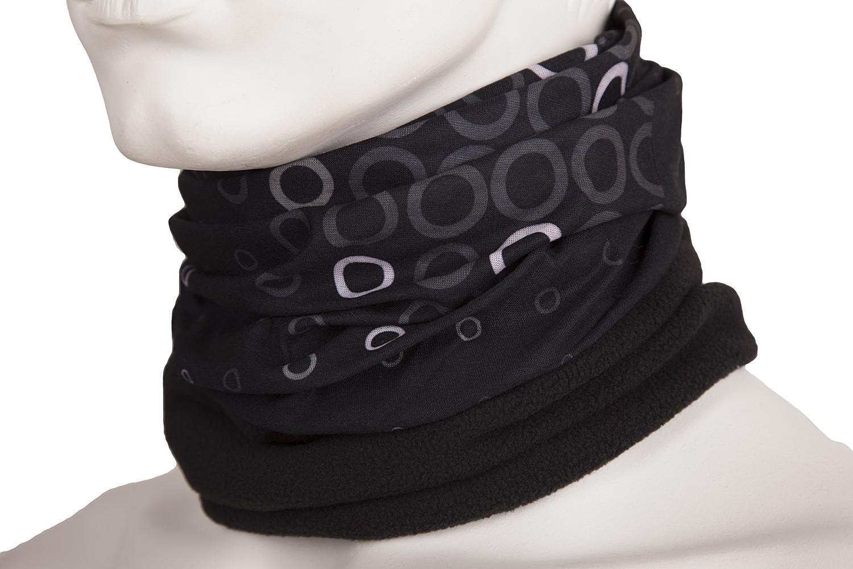 hilltop polar multifunktionstuch schal schwarz weiss mit fleece damen polar halst cher mit fleece. Black Bedroom Furniture Sets. Home Design Ideas